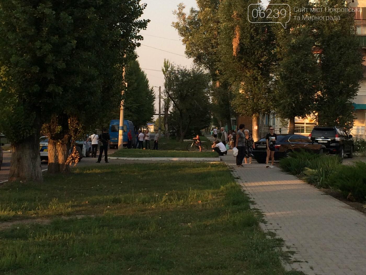 Вчера в Мирнограде произошло ДТП, столкнулись легковушка и мотороллер , фото-2