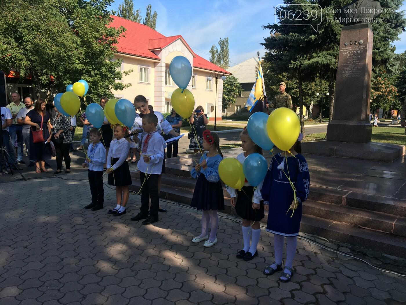 В Покровске состоялся митинг ко Дню освобождения Донбасса, фото-13