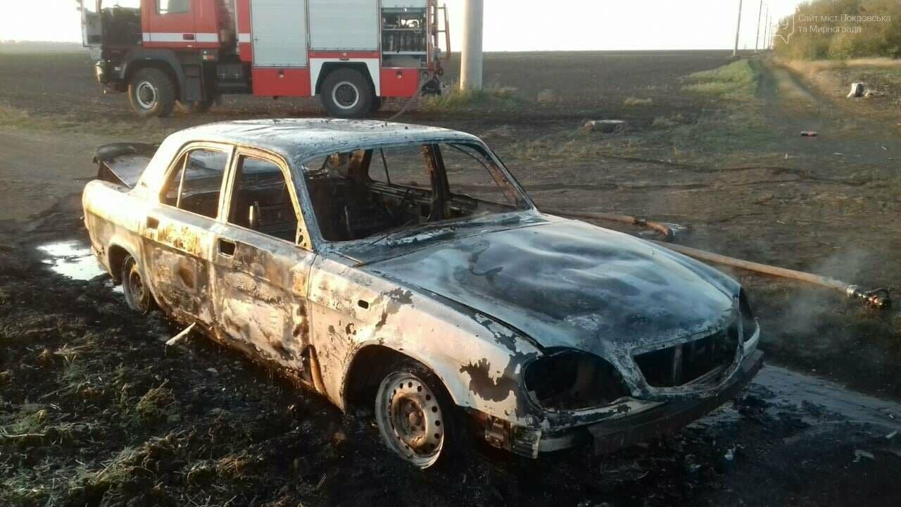 Утренний пожар: в Покровском районе сгорел автомобиль (ФОТО), фото-5