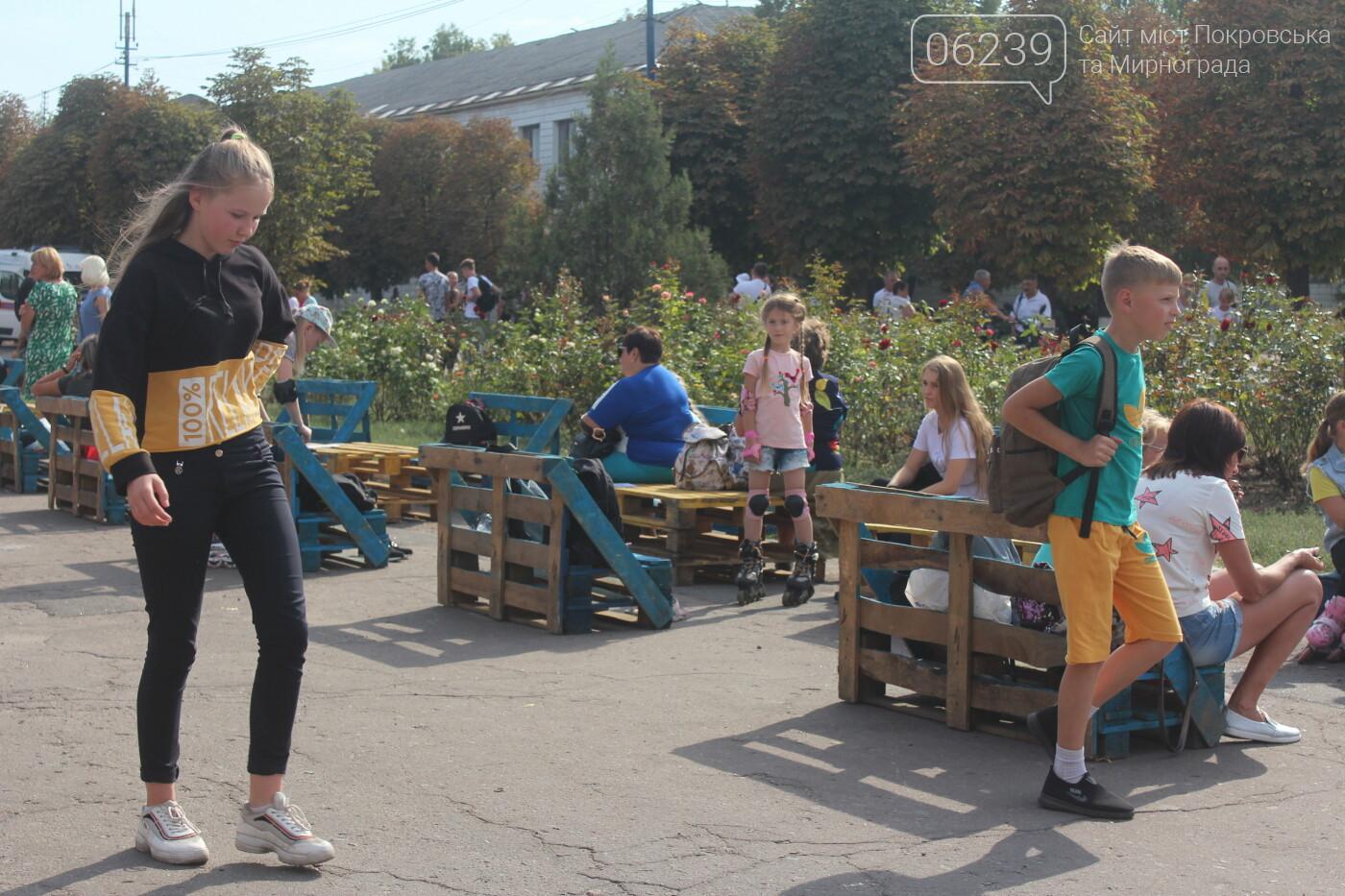 «Ролерфест» и соревнования: в Мирнограде отметили День физкультуры и спорта , фото-5