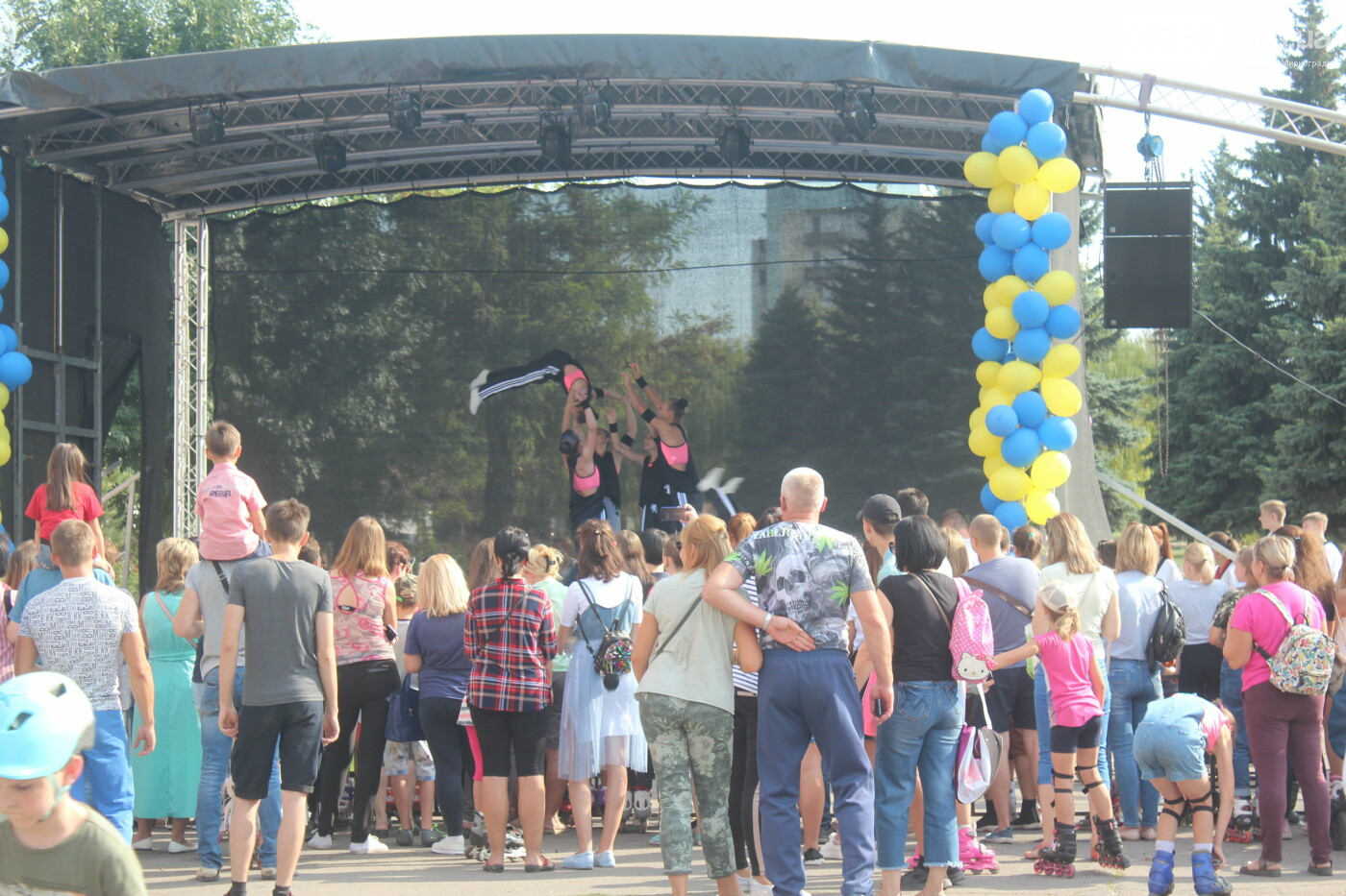 «Ролерфест» и соревнования: в Мирнограде отметили День физкультуры и спорта , фото-6