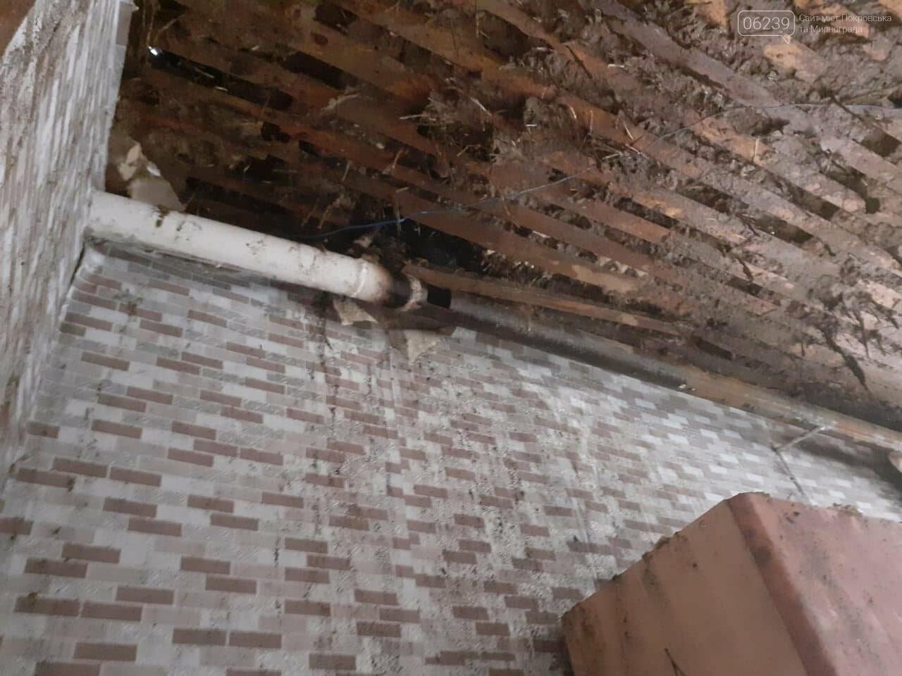 Остались без крыши над головой: в Покровске горел жилой дом (ФОТО), фото-3