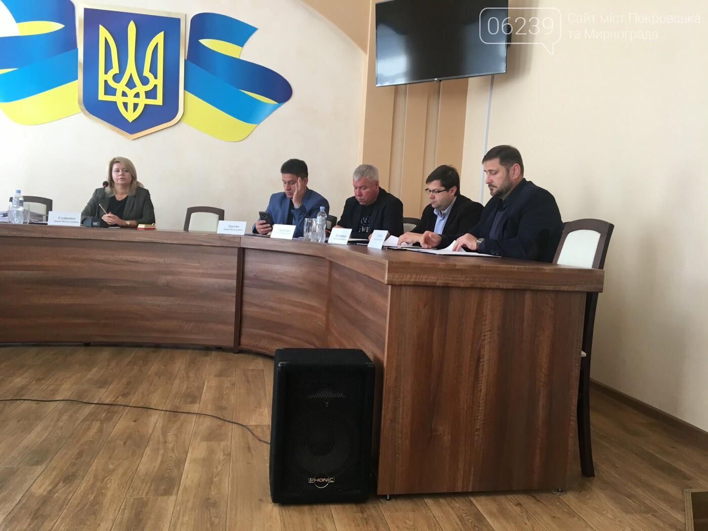 У Покровську сьогодні відбулось засідання виконкому, фото-5