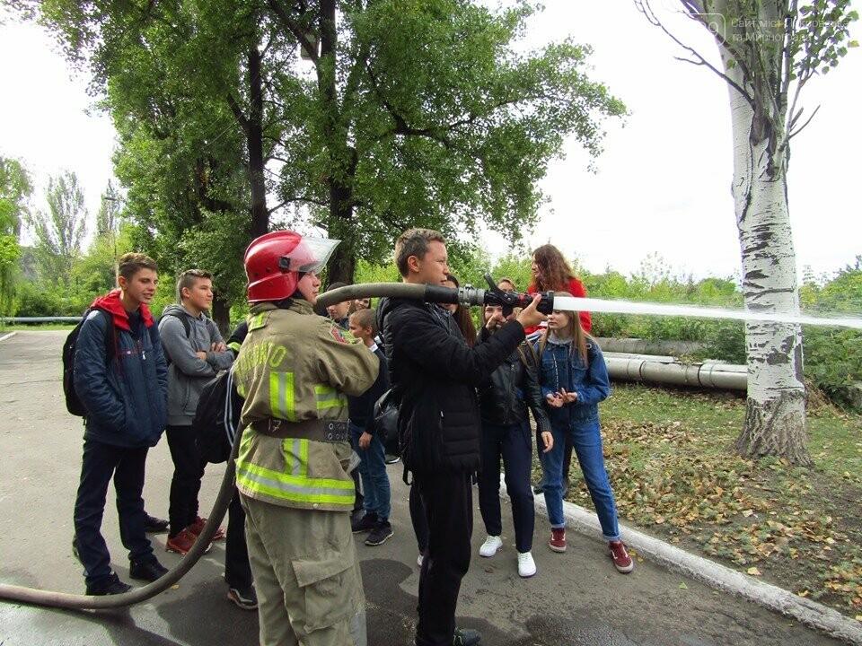 В Мирнограді відбулась вереснева екскурсія до 52-ї Державної пожежно-рятувальної частини, фото-1