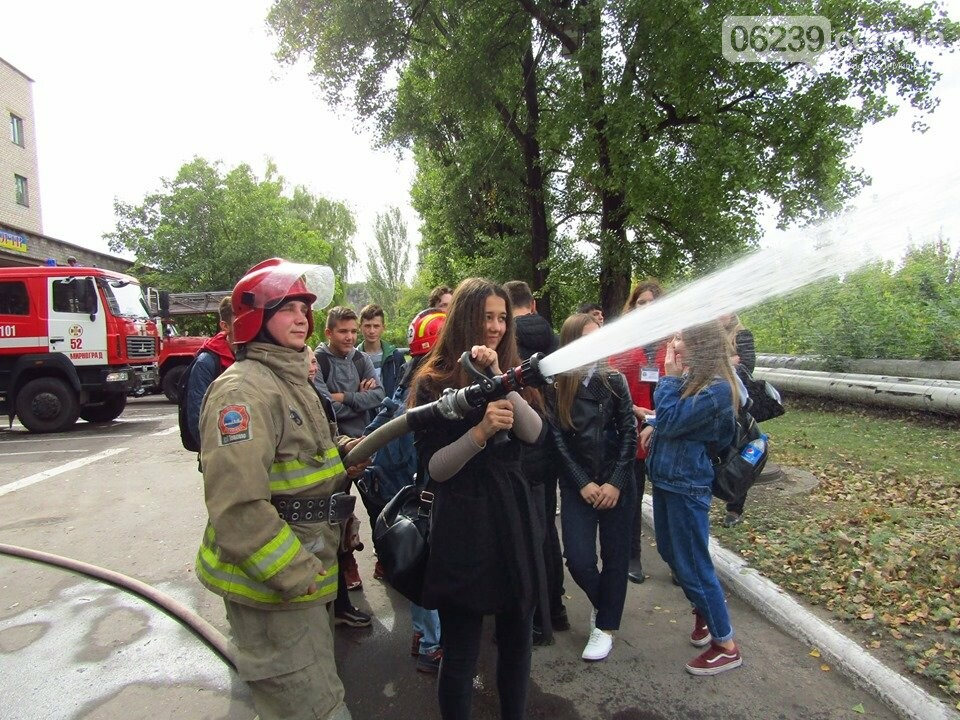 В Мирнограді відбулась вереснева екскурсія до 52-ї Державної пожежно-рятувальної частини, фото-2