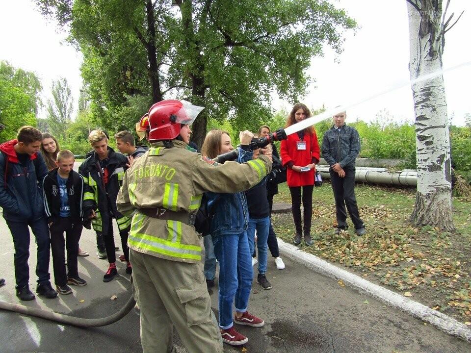 В Мирнограді відбулась вереснева екскурсія до 52-ї Державної пожежно-рятувальної частини, фото-3
