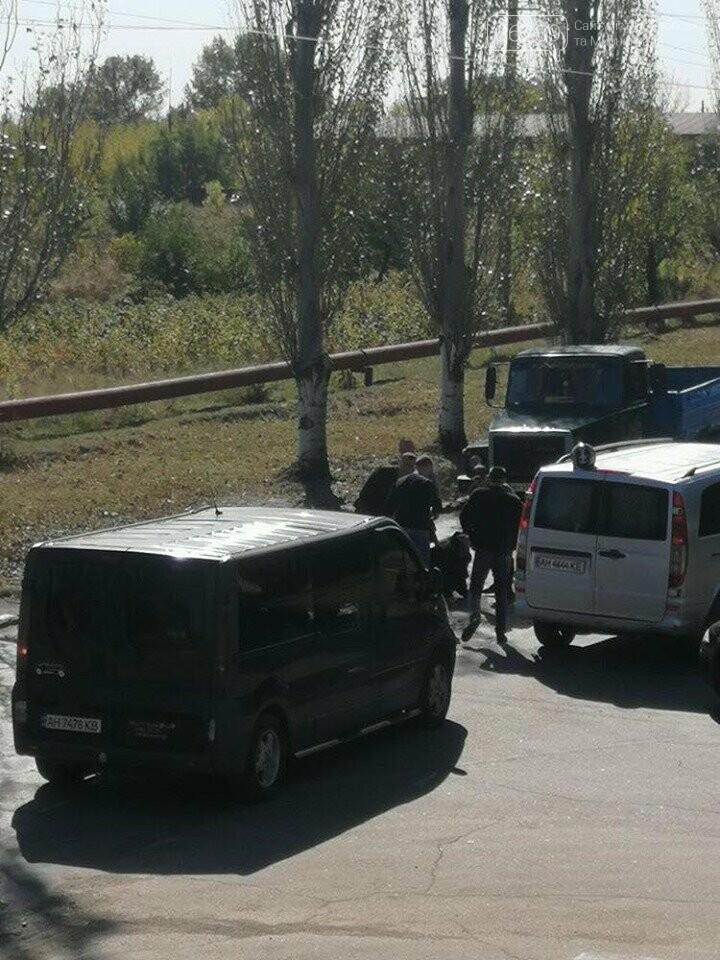 В Мирнограде произошло ДТП, столкнулись автомобиль и мотороллер, фото-3