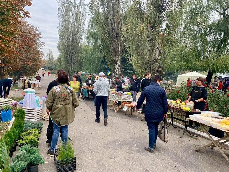 Традиційний вересневий ярмарок «Мирноградська осінь» вже став візитівкою Мирнограду, фото-5
