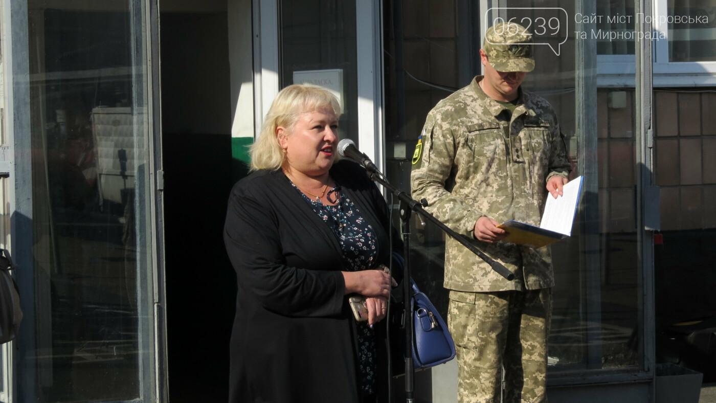 В Покровске прошел первый осенний призыв, фото-18