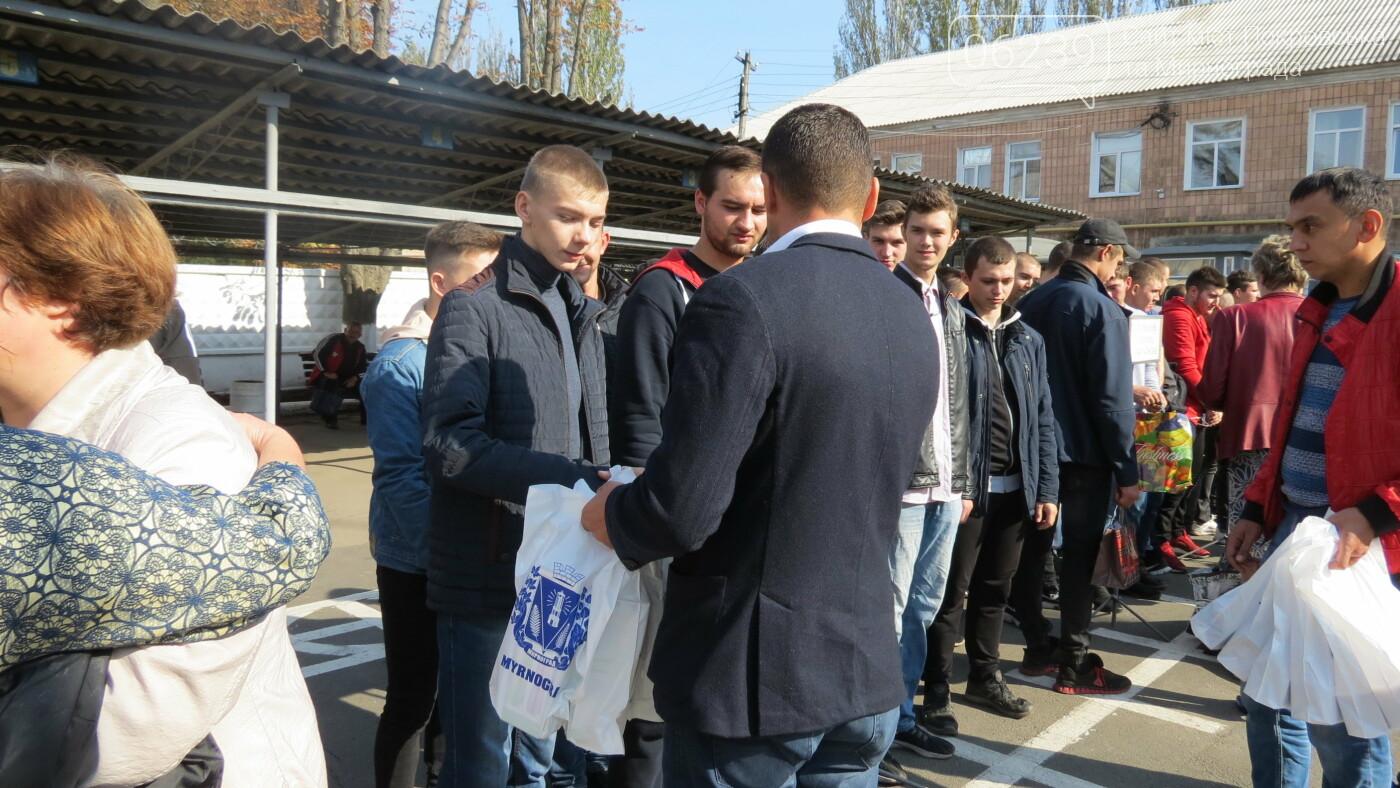 В Покровске прошел первый осенний призыв, фото-16