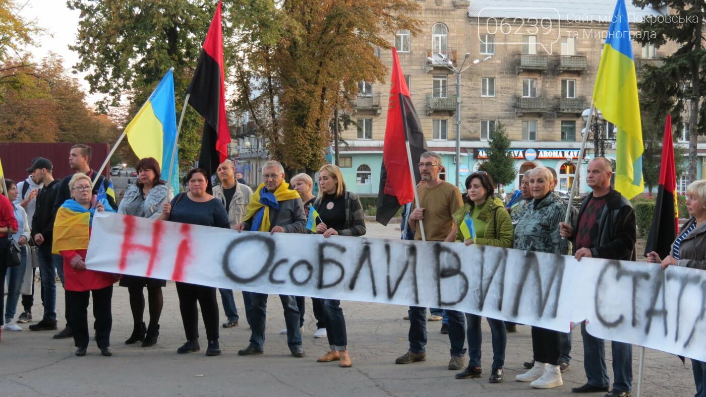 """""""Ні капітуляції"""": в Покровске прошла акцию протеста, фото-2"""