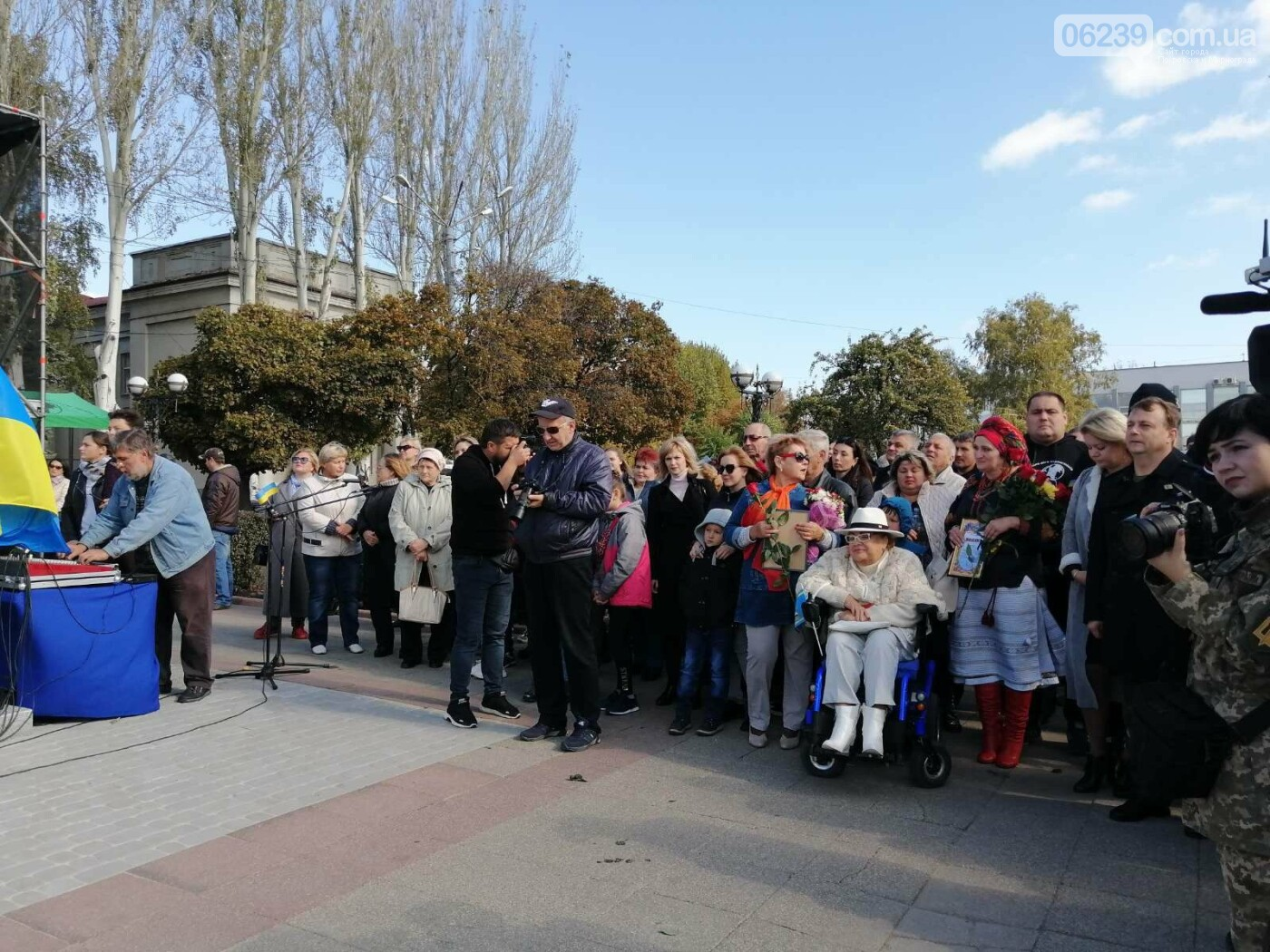 В Покровске состоялось торжественное открытие памятника Шевченко, фото-7