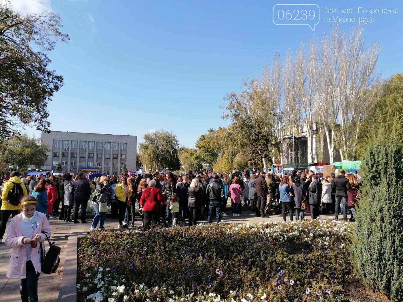 В Покровске состоялось торжественное открытие памятника Шевченко, фото-2