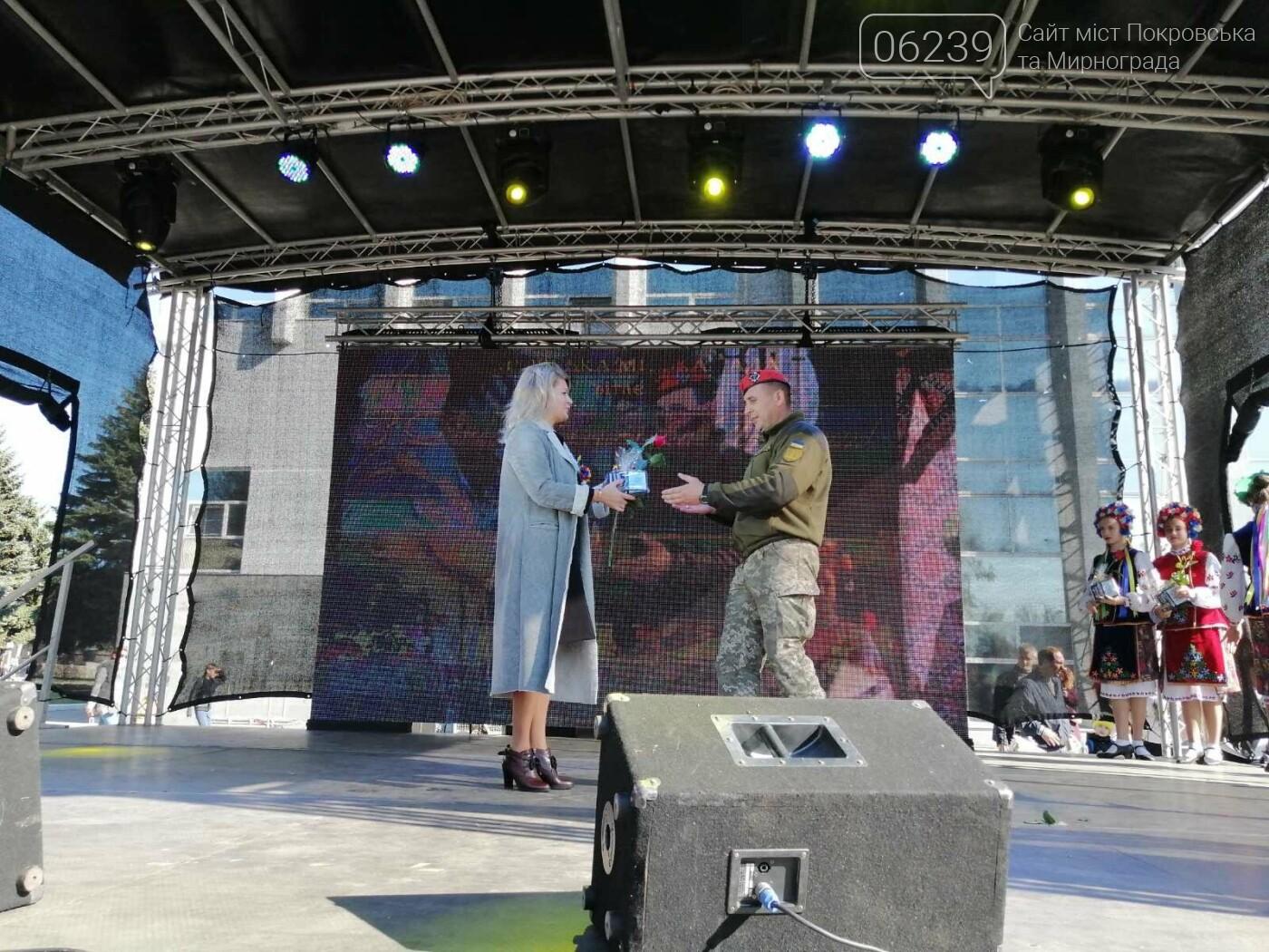 Святкова программа на честь святкування Дня захисника триває у Покровську, фото-6