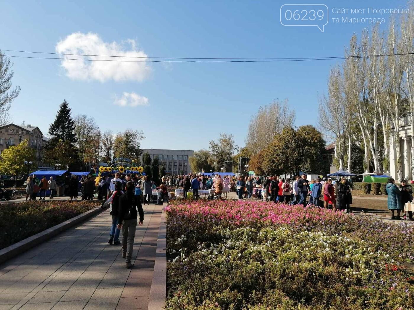 Святкова программа на честь святкування Дня захисника триває у Покровську, фото-16
