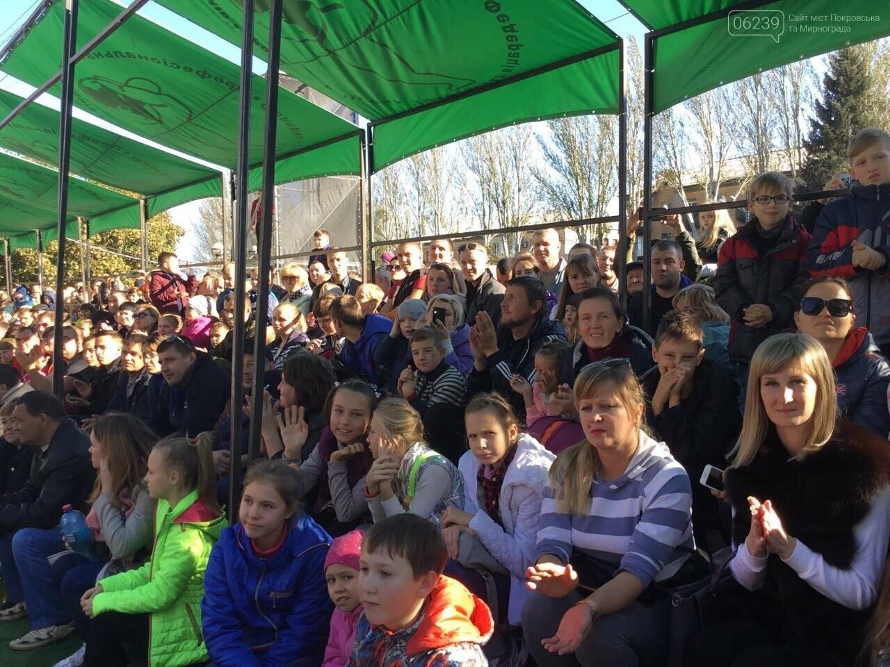 В Покровске на площади Шибанкова проходят соревнования лучших стронгменов страны, фото-1