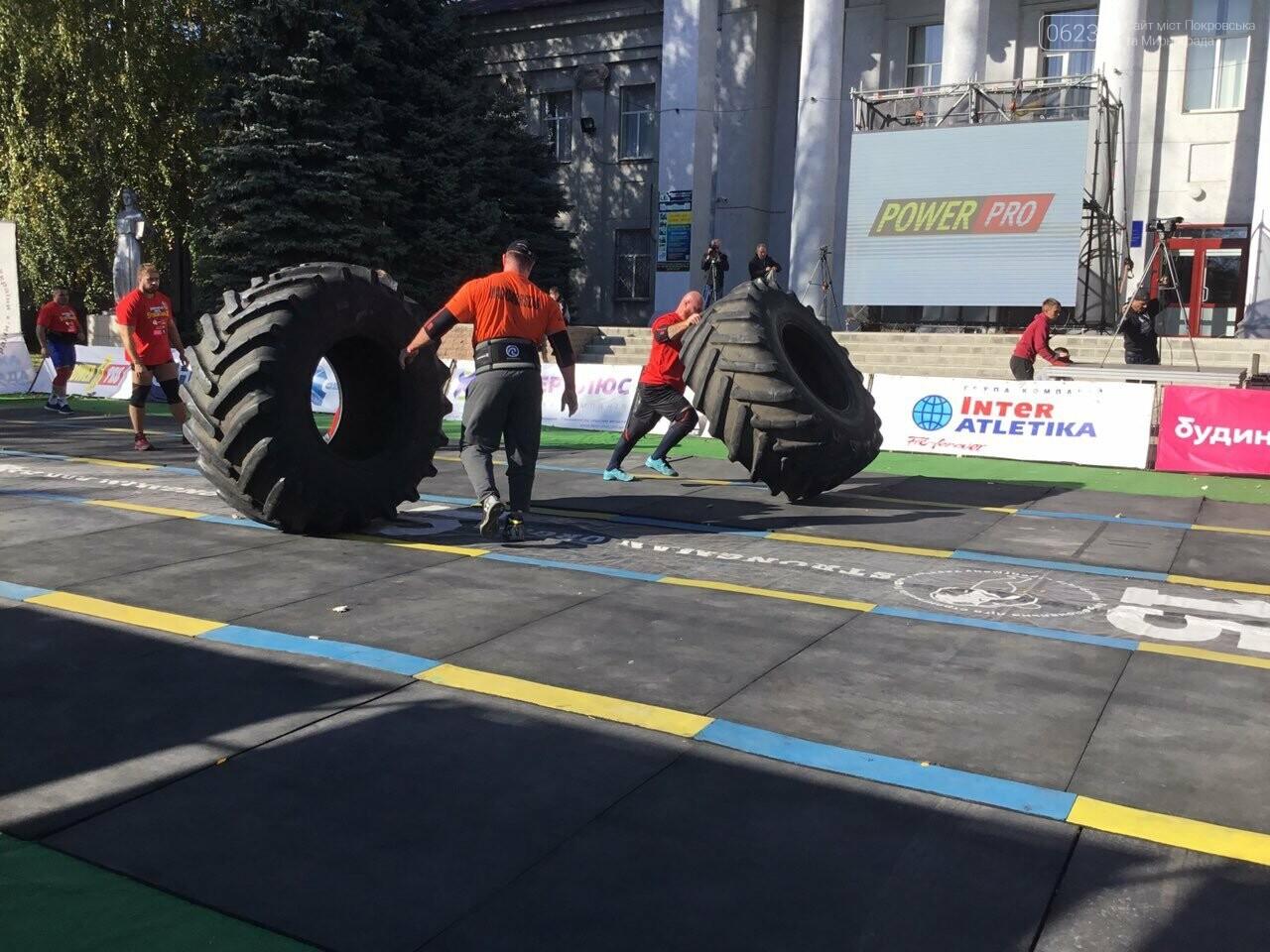 В Покровске на площади Шибанкова проходят соревнования лучших стронгменов страны, фото-7