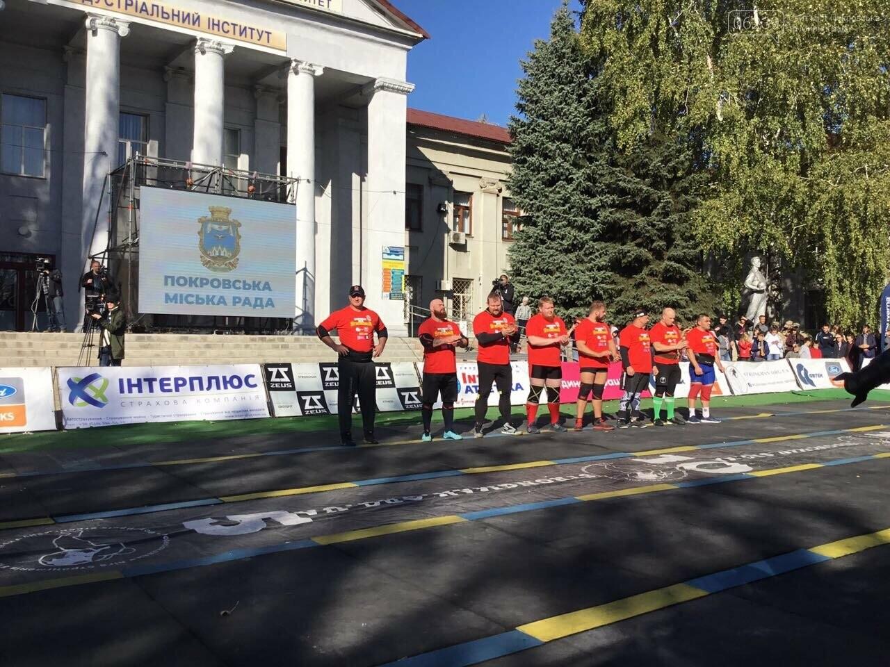 В Покровске на площади Шибанкова проходят соревнования лучших стронгменов страны, фото-3