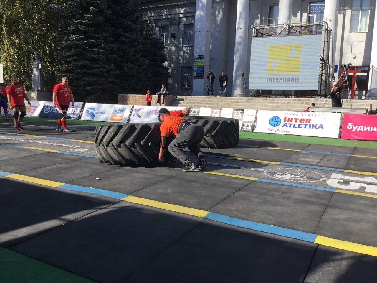 В Покровске на площади Шибанкова проходят соревнования лучших стронгменов страны, фото-4