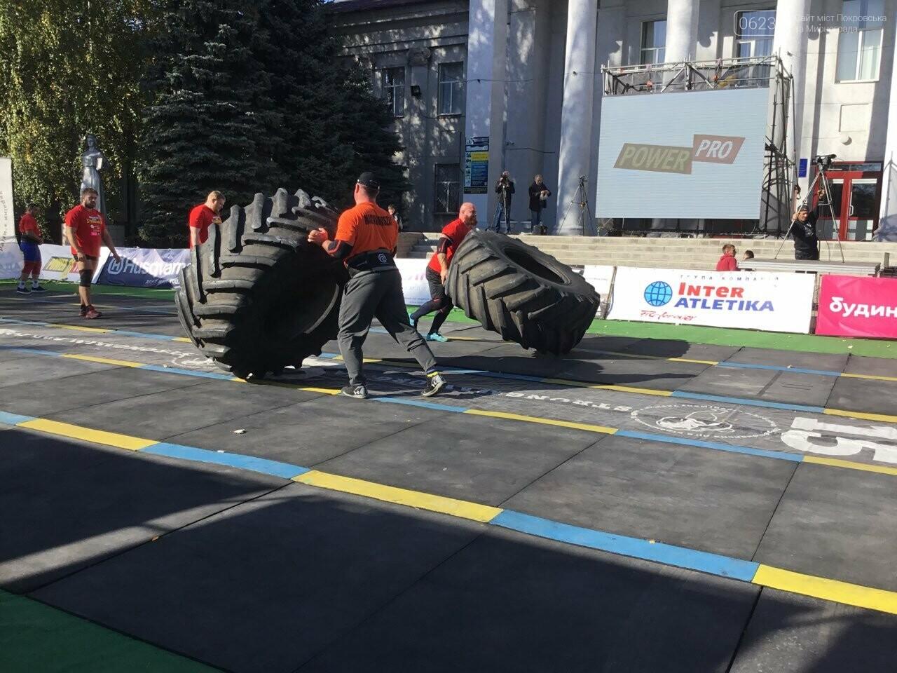 В Покровске на площади Шибанкова проходят соревнования лучших стронгменов страны, фото-6