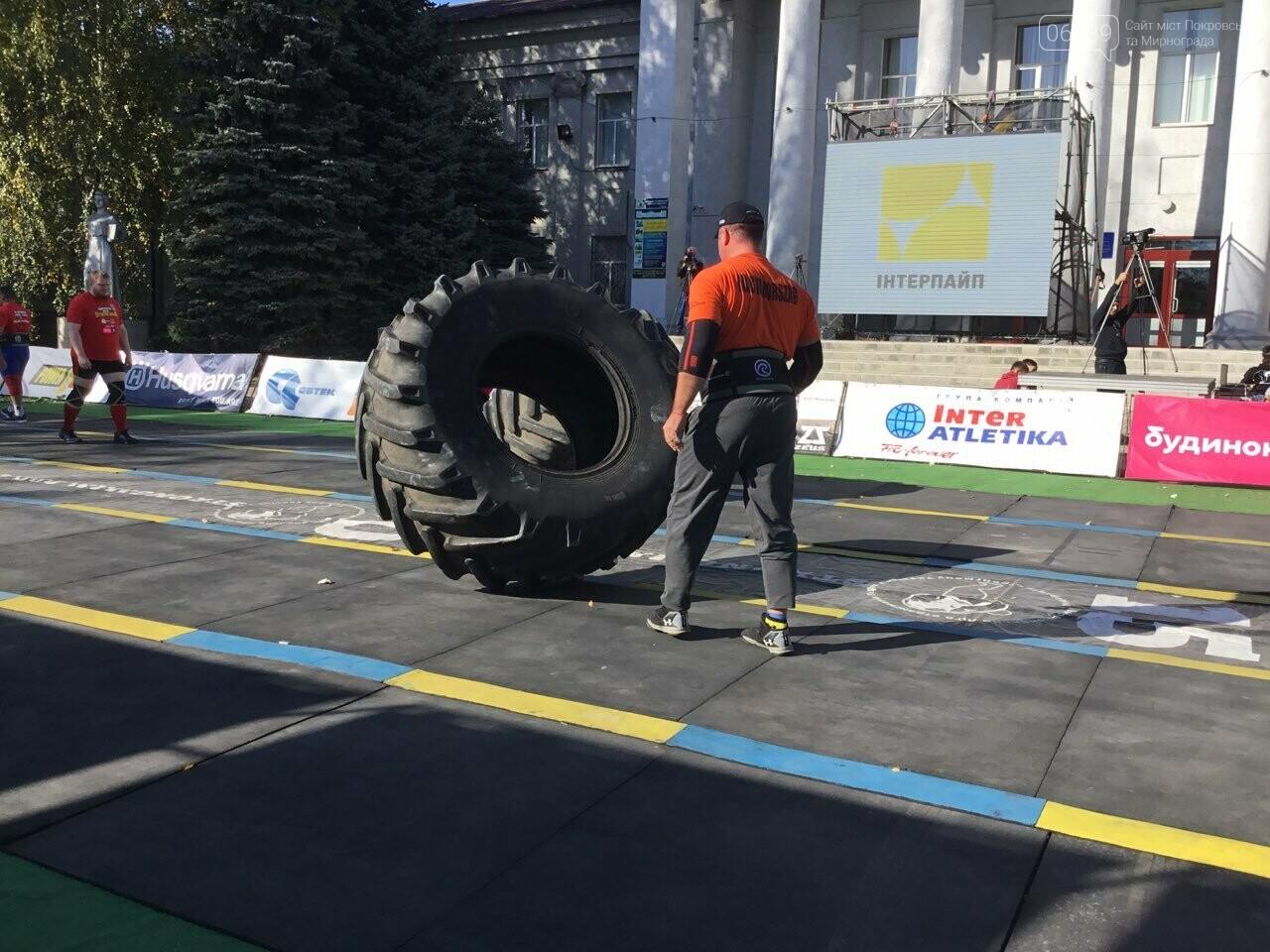 В Покровске на площади Шибанкова проходят соревнования лучших стронгменов страны, фото-10
