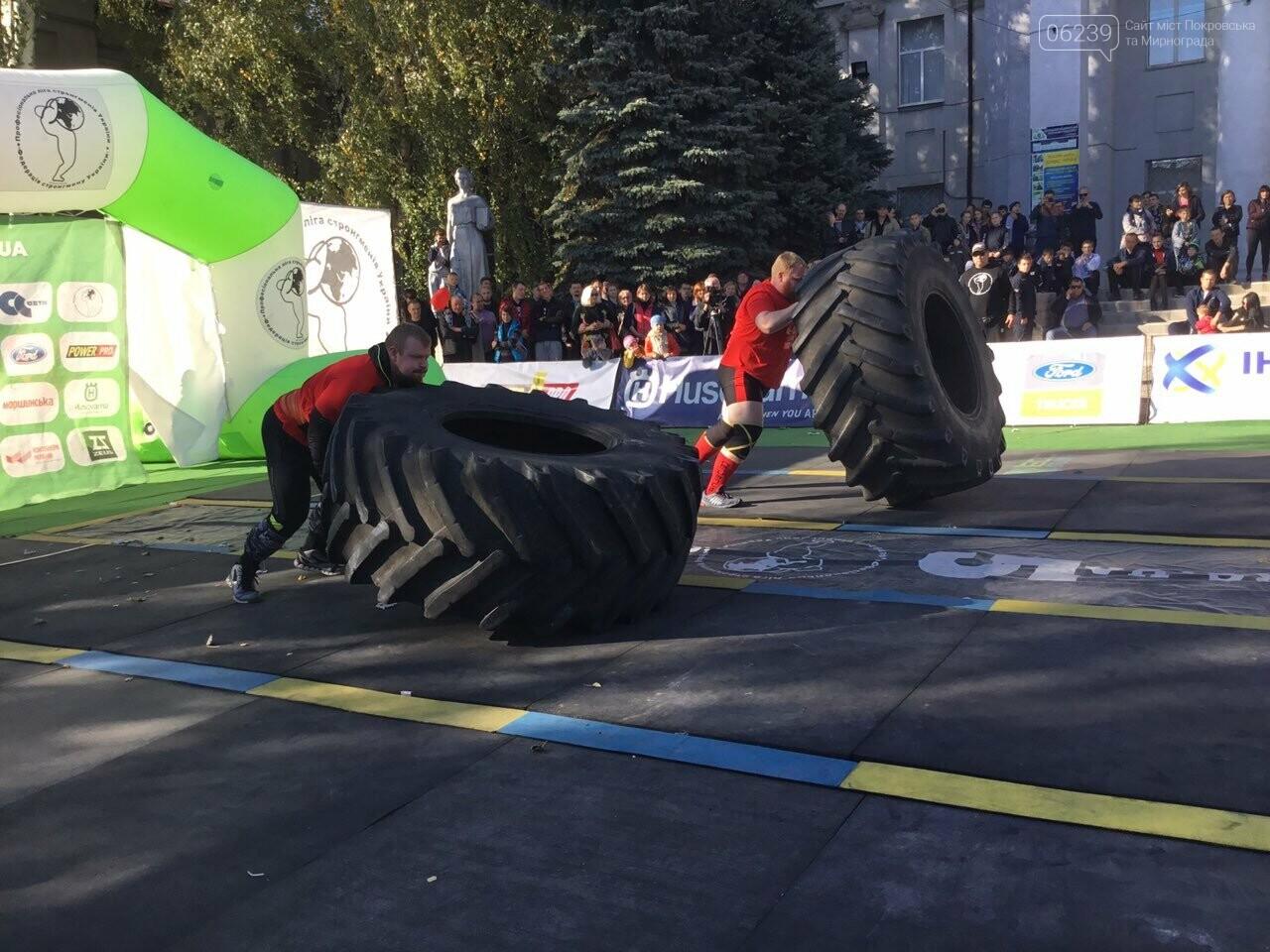 В Покровске на площади Шибанкова проходят соревнования лучших стронгменов страны, фото-15