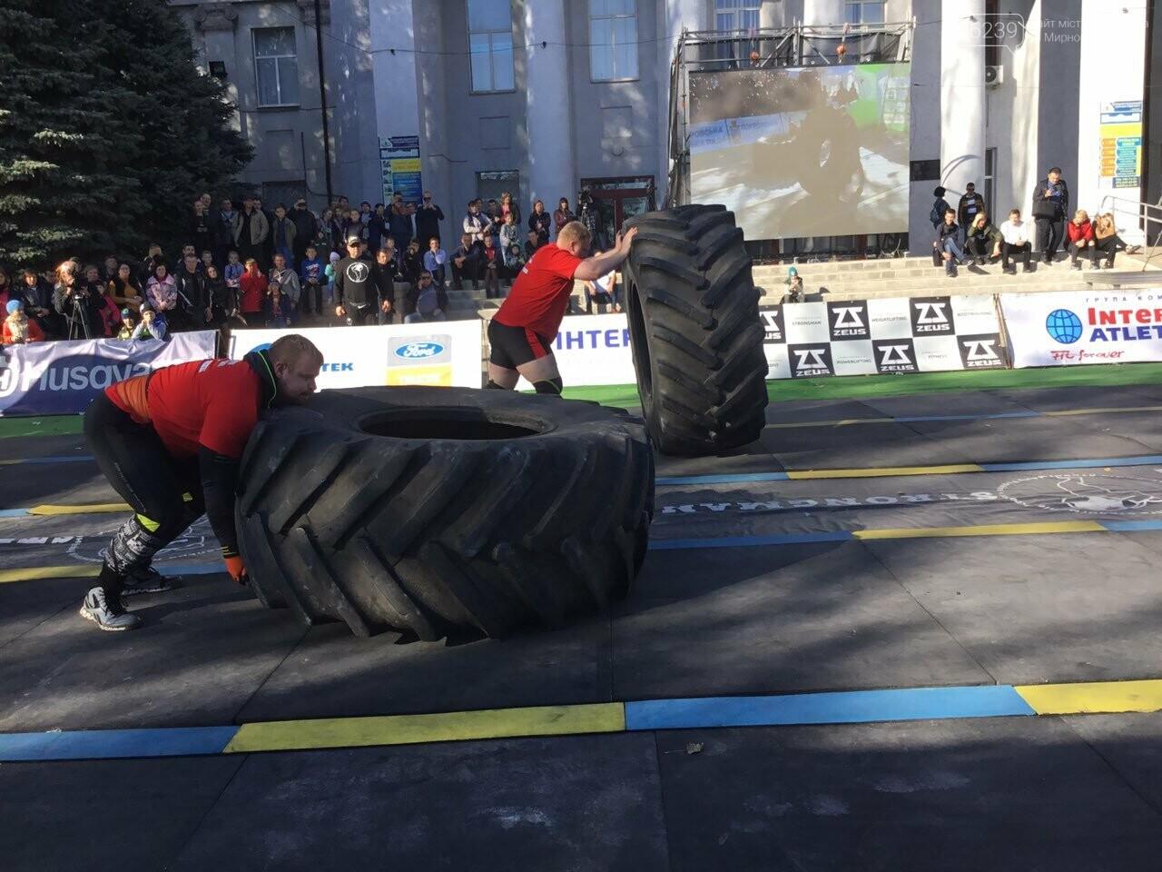 В Покровске на площади Шибанкова проходят соревнования лучших стронгменов страны, фото-18