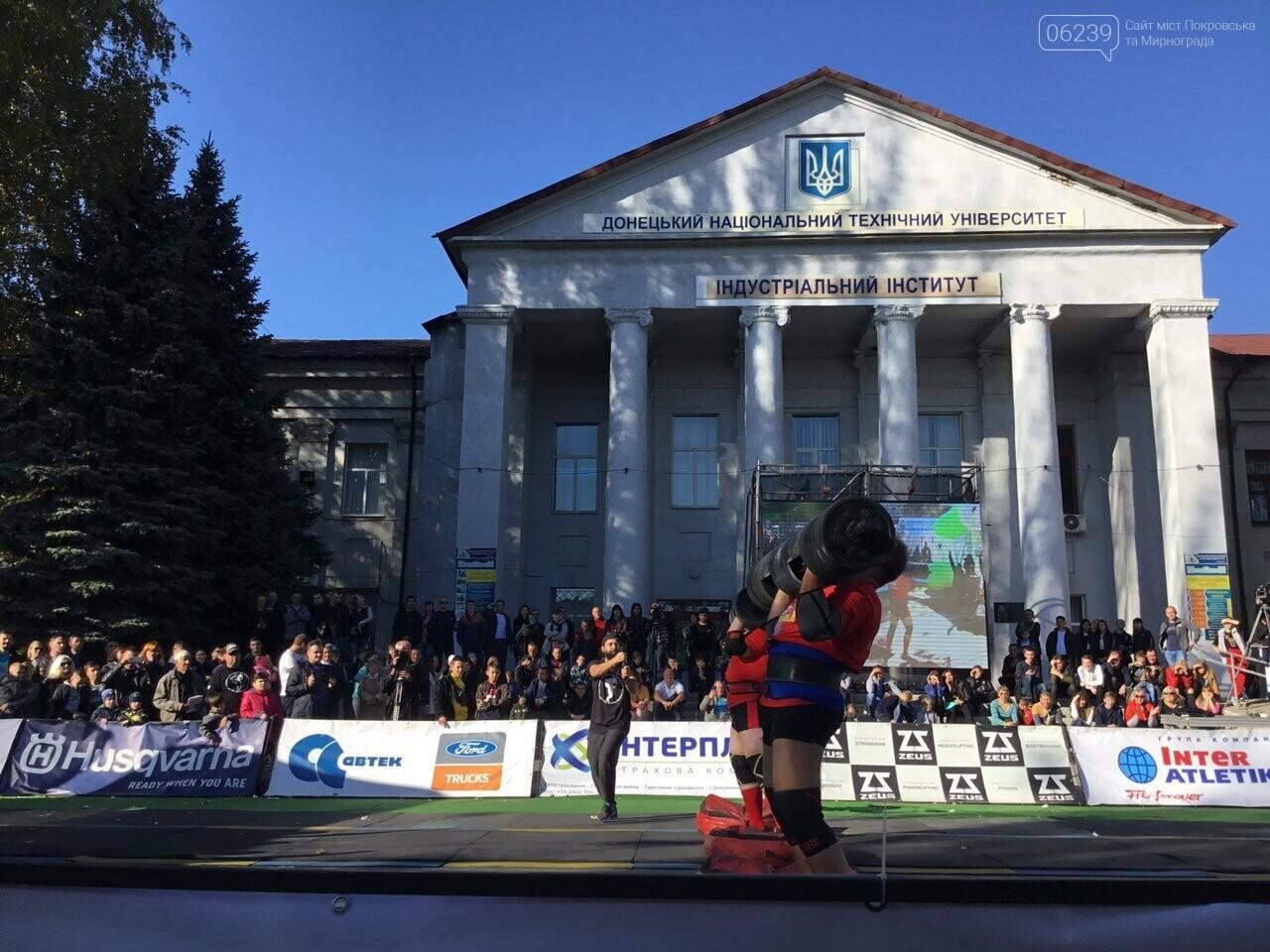 В Покровске на площади Шибанкова проходят соревнования лучших стронгменов страны, фото-21