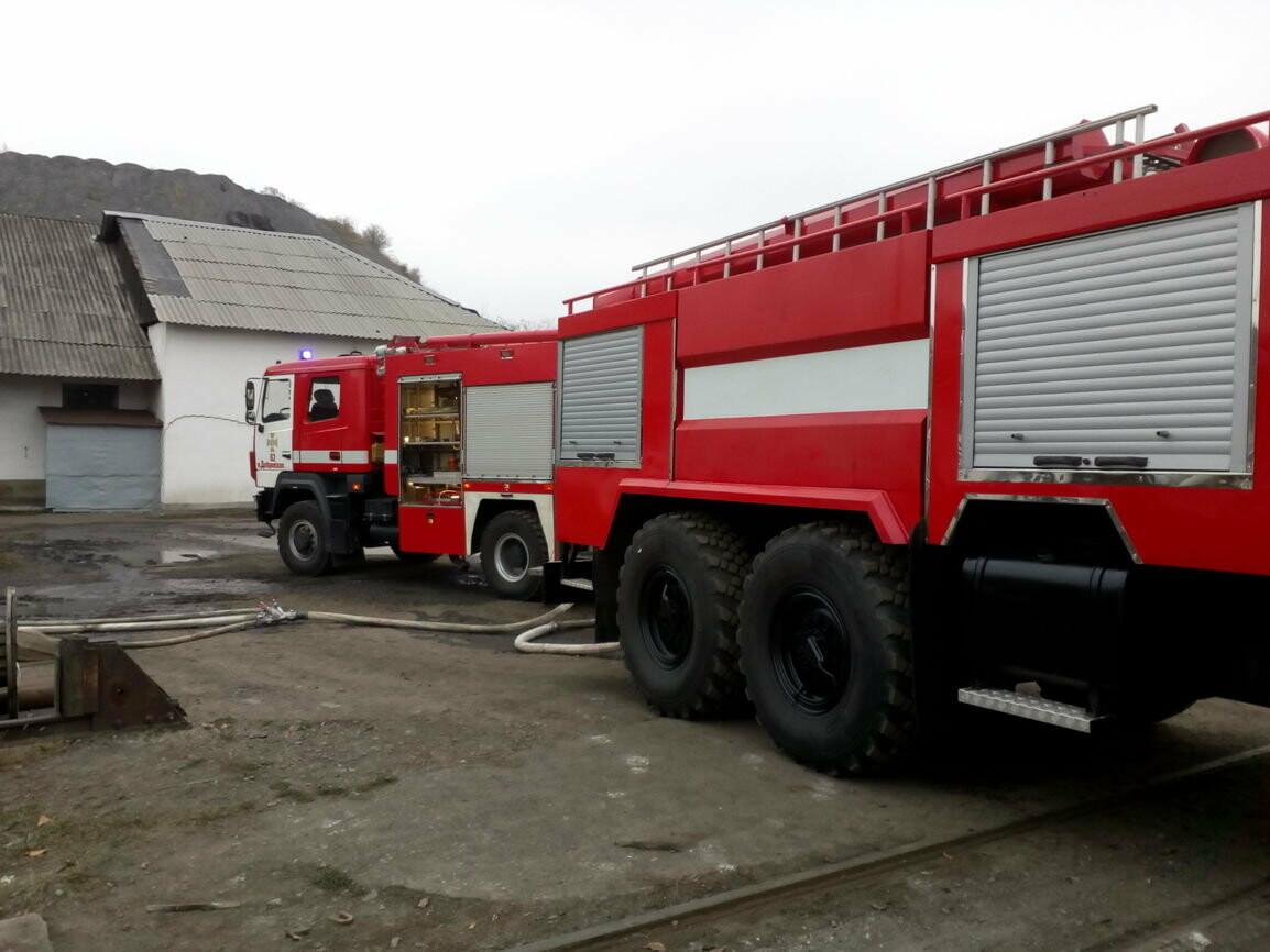 Покровская оперзона: произошел пожар на территории шахты (ФОТО), фото-2