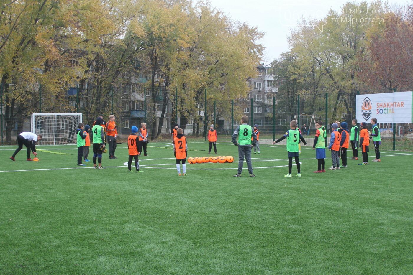 В Мирнограде открыли еще одно футбольное поле с искусственным покрытием, фото-7