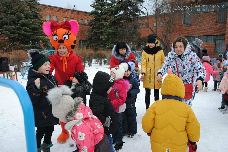 У Мирноградському ДНЗ «Мальвіна» відбулося відкриття спортивного дитячого майданчика, фото-3