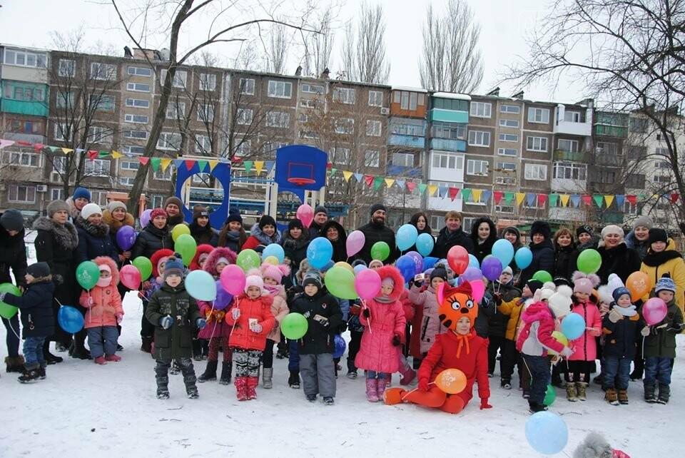 У Мирноградському ДНЗ «Мальвіна» відбулося відкриття спортивного дитячого майданчика, фото-2