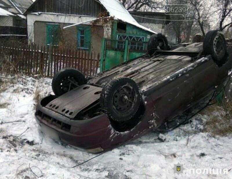 Обошлось без жертв: в Покровске подросток угнал у родителей автомобиль и перевернул его, фото-3