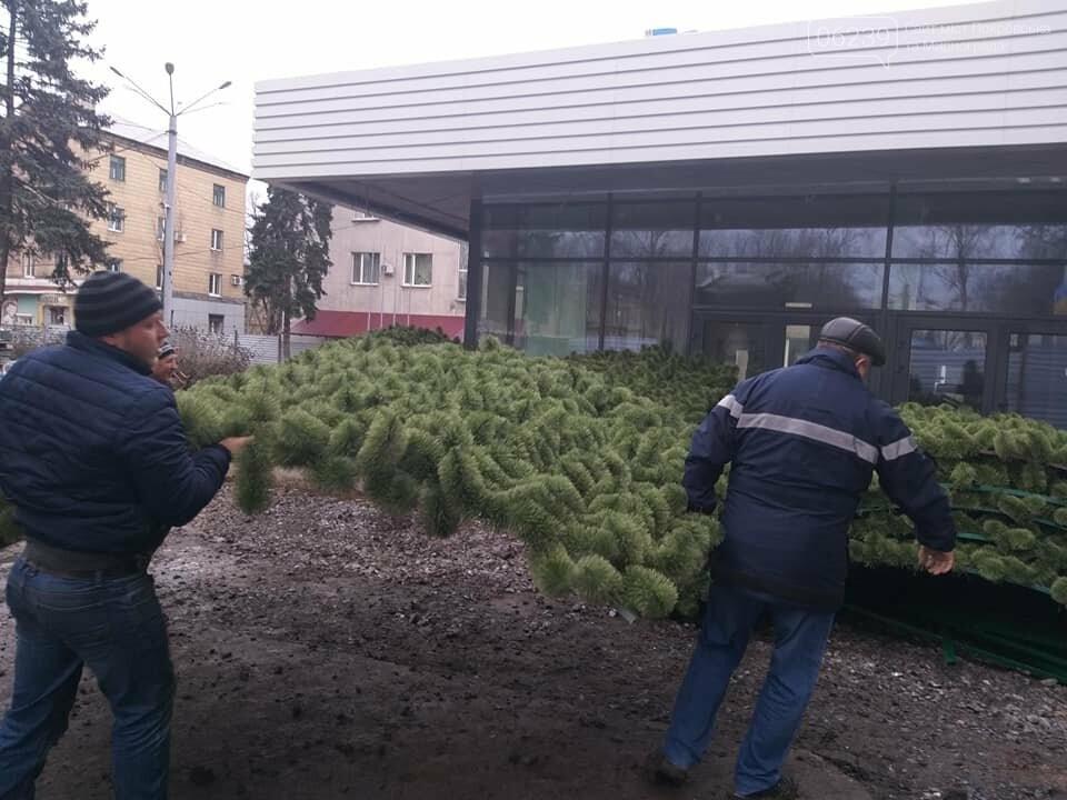 В Покровск сегодня доставили новогоднюю ёлку за миллион, фото-1