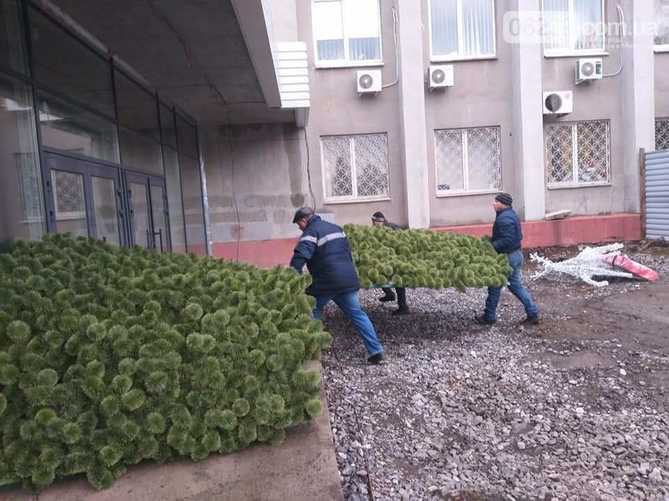 В Покровск сегодня доставили новогоднюю ёлку за миллион, фото-3