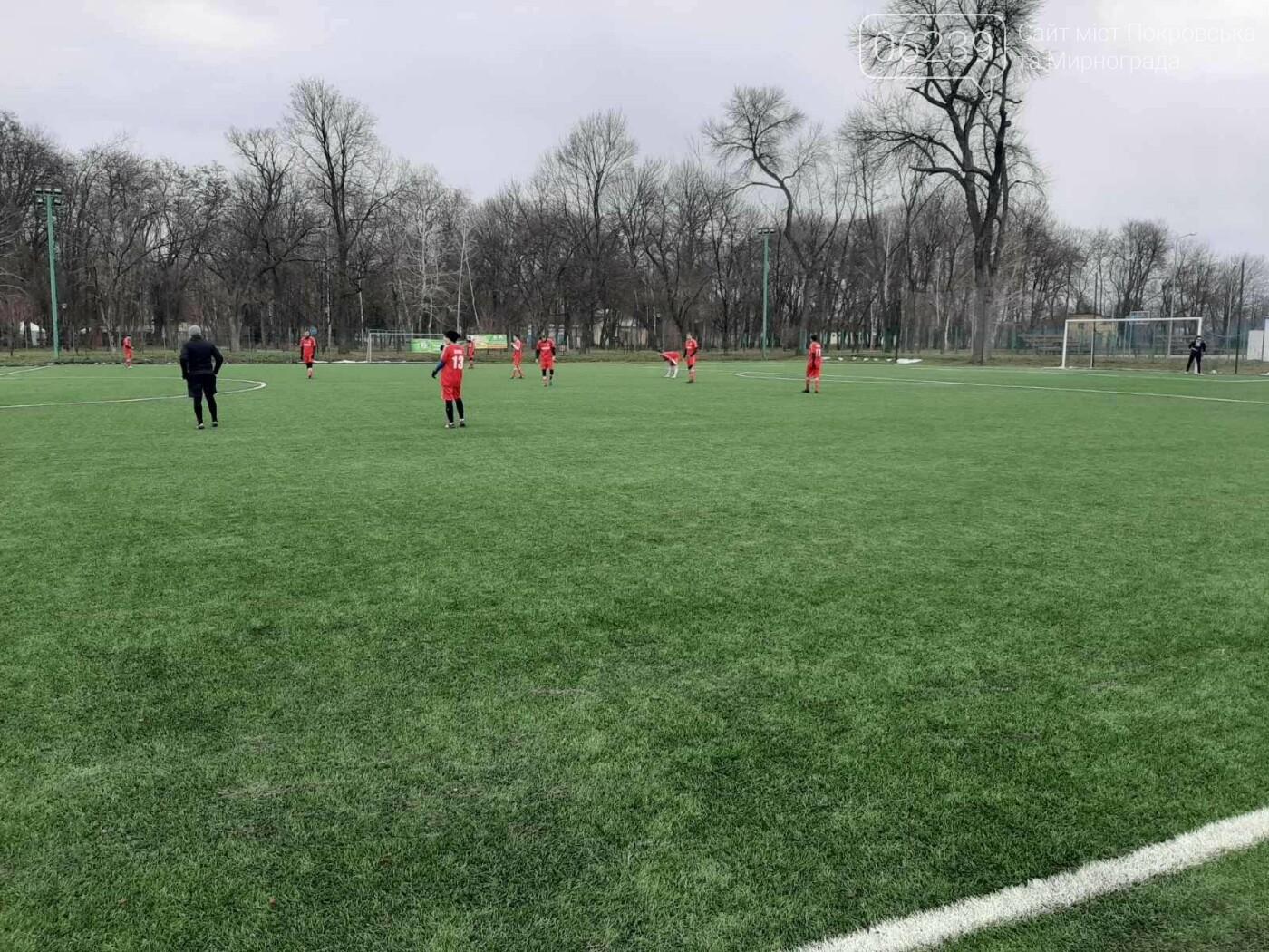 Первый блин всегда комом: ФК «Мирноград» уступил в стартовом матче зимнего первенства области по футболу, фото-2