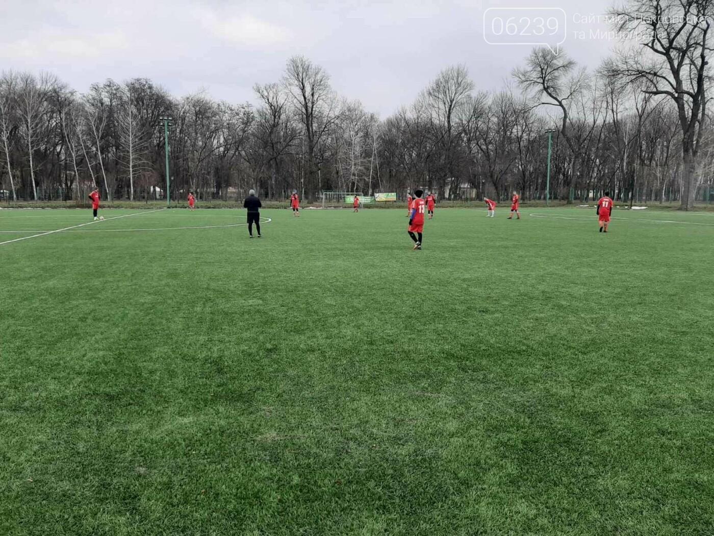 Первый блин всегда комом: ФК «Мирноград» уступил в стартовом матче зимнего первенства области по футболу, фото-4