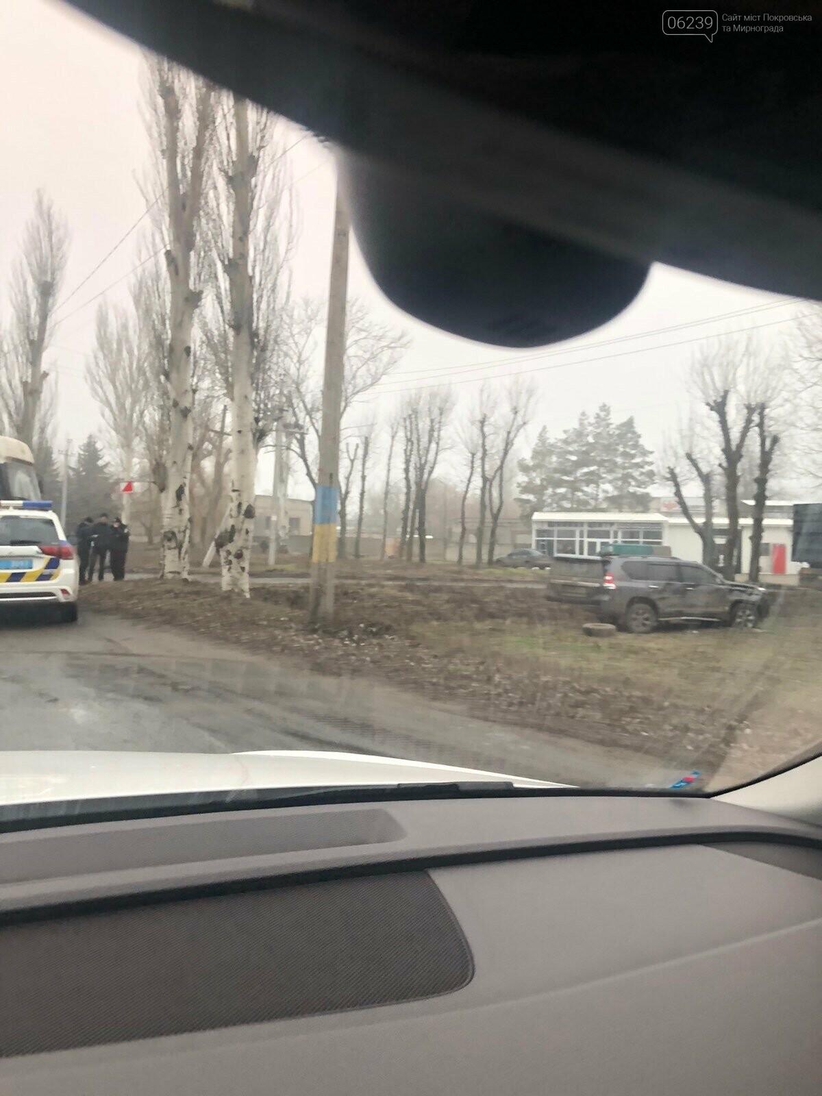 Пострадавших нет: в Покровске столкнулись Toyota и грузовик, фото-3