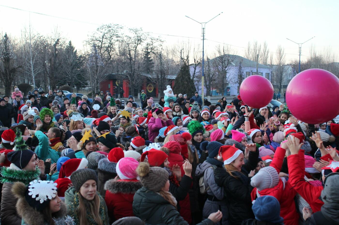 В Мирнограде торжественно открыли главную городскую ёлку, фото-7