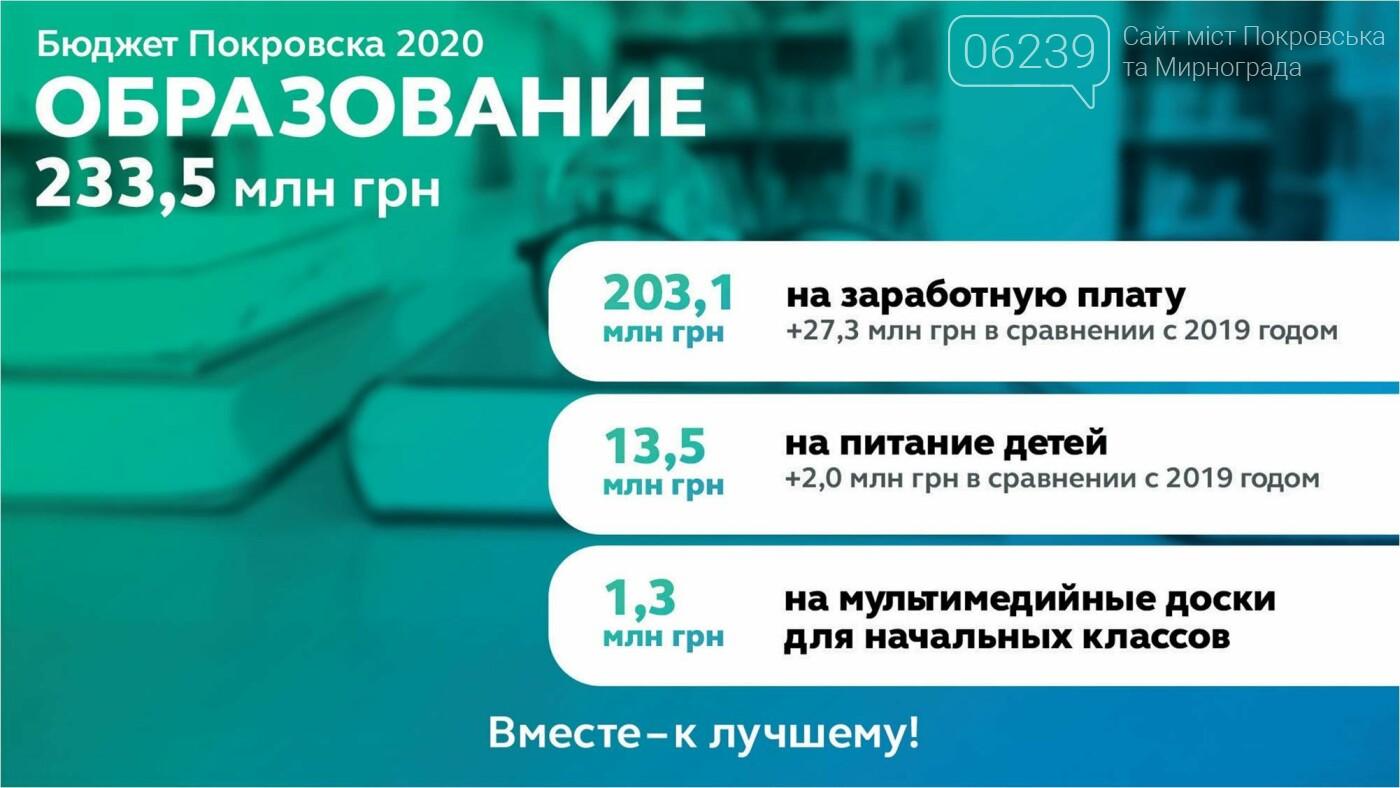 В Покровске утвердили бюджет-2020: решили меньше тратить на праздники и пиар, фото-2