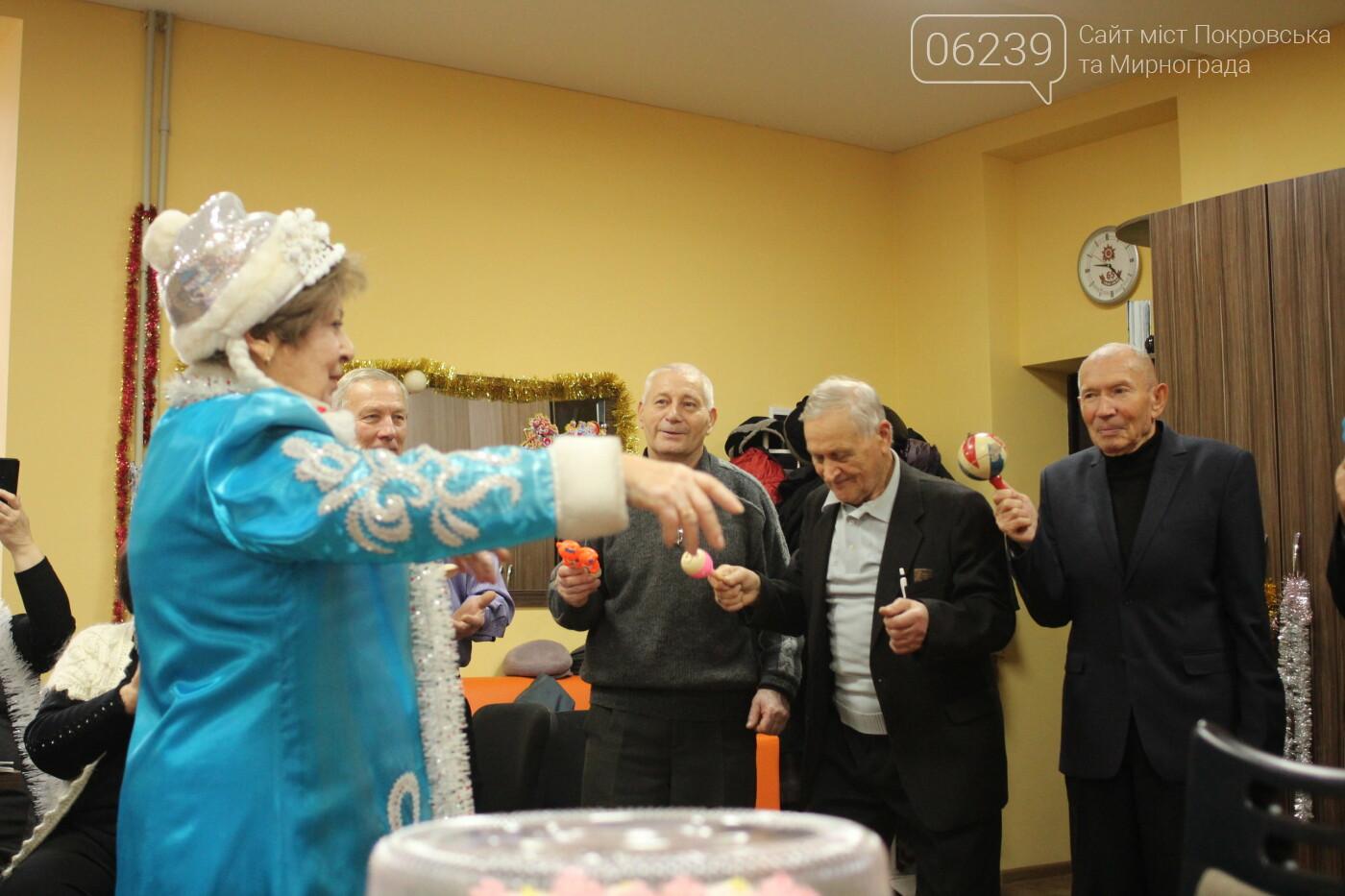 Мирноградских ветеранов поздравили с наступающим Новым годом , фото-3