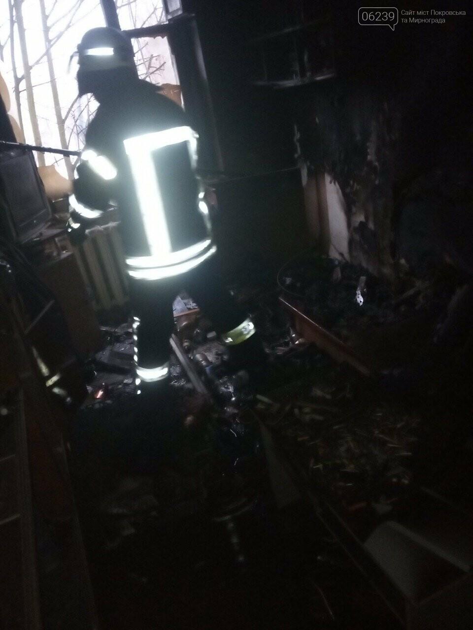 В Покровске во время пожара погиб 40-летний мужчина  (ФОТО), фото-2