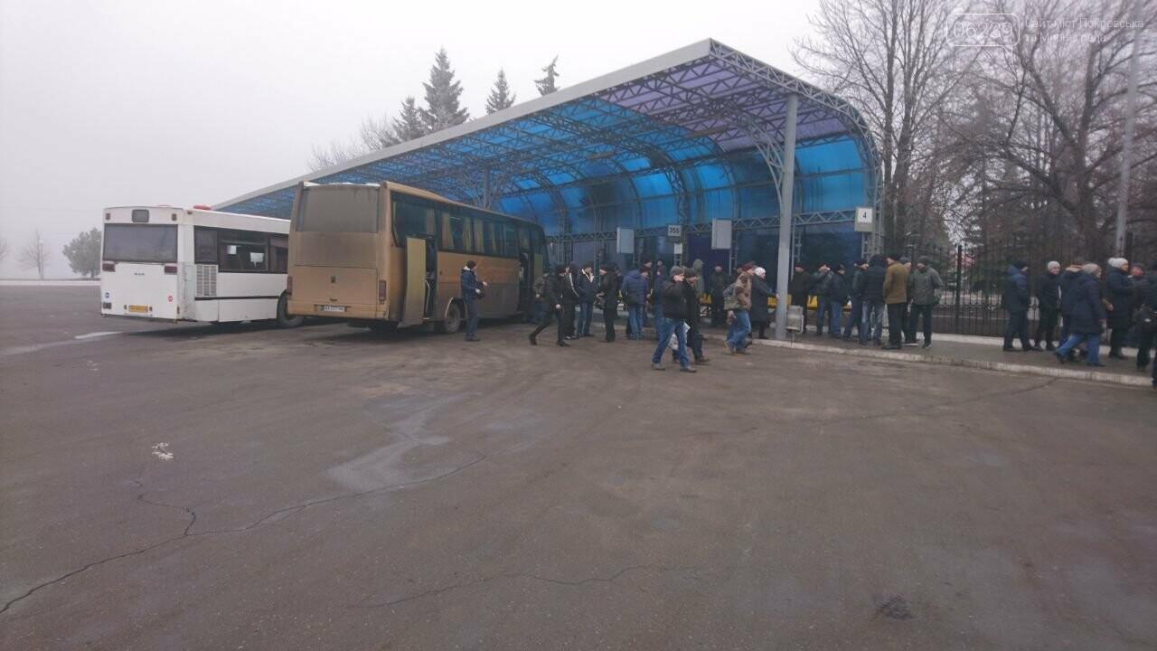"""Горняки """"Краснолиманской"""" снова протестовали из-за невыплаты зарплат, фото-2"""