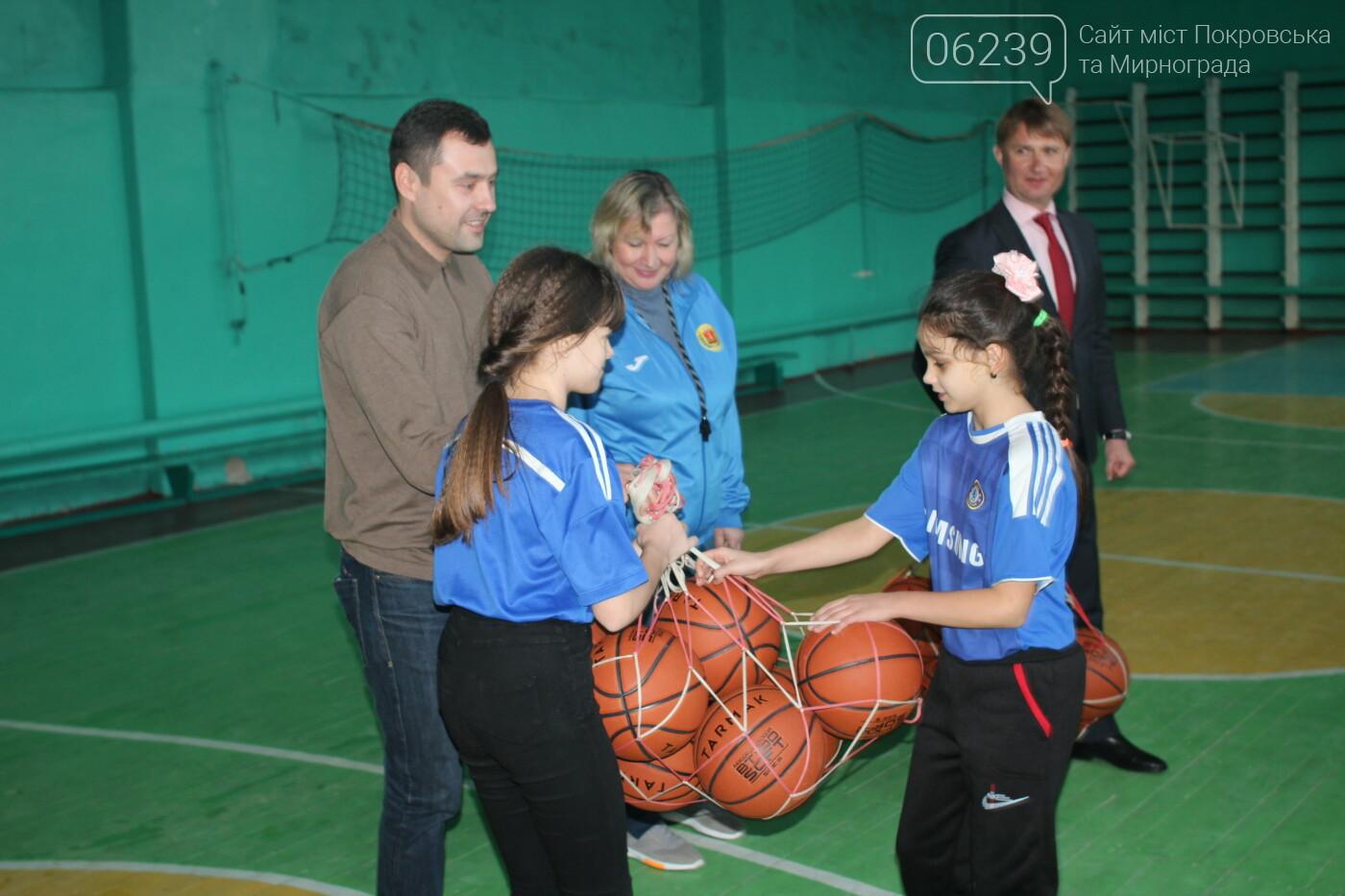 Секции Мирноградской ДЮСШ получили новый инвентарь , фото-2