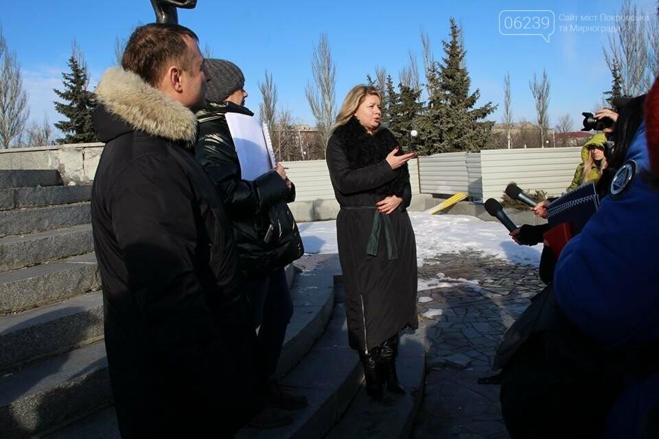 Реконструкция мемориала «Девочка» обойдётся Покровску в 9 миллионов гривен, фото-3