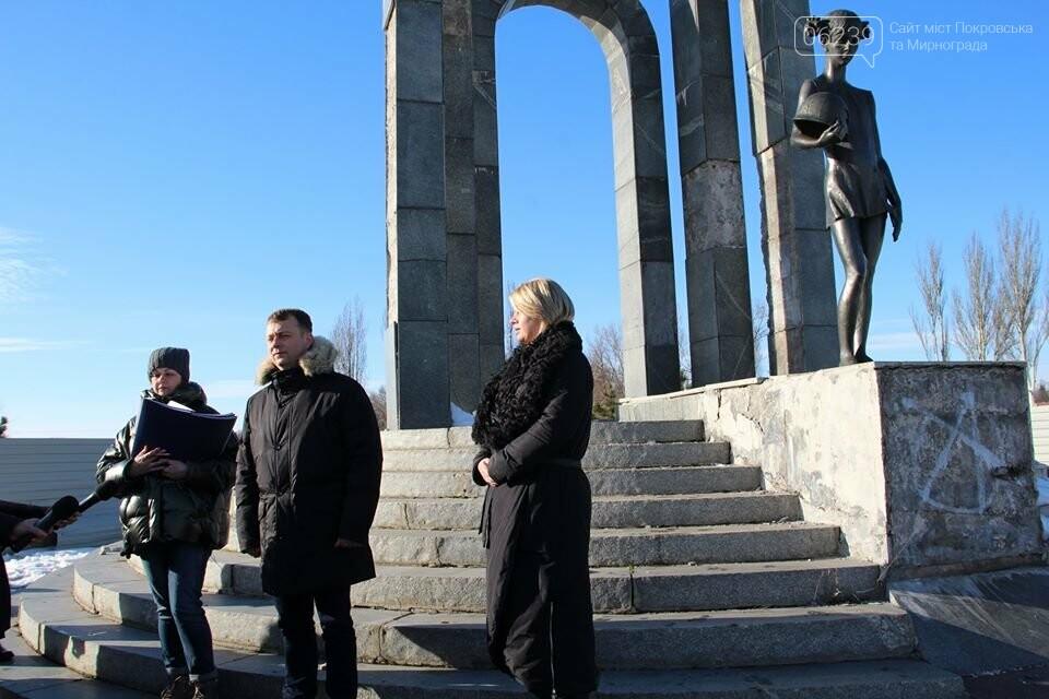 Реконструкция мемориала «Девочка» обойдётся Покровску в 9 миллионов гривен, фото-4