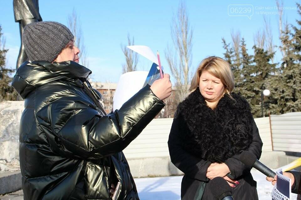Реконструкция мемориала «Девочка» обойдётся Покровску в 9 миллионов гривен, фото-7