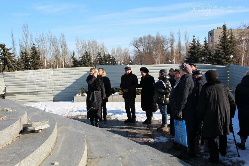 Реконструкция мемориала «Девочка» обойдётся Покровску в 9 миллионов гривен, фото-1