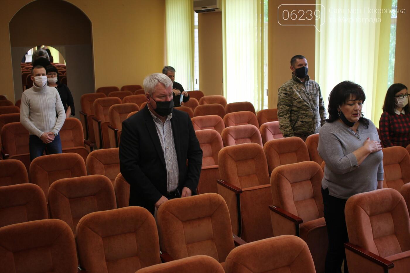 В Мирнограде сессия горсовета снова проходила в онлайн-режиме (вопросы повестки дня), фото-3