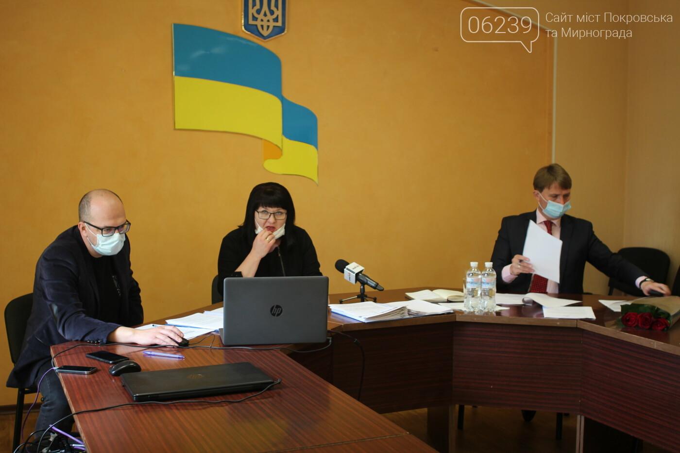 В Мирнограде сессия горсовета снова проходила в онлайн-режиме (вопросы повестки дня), фото-5